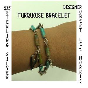 ROBERT LEE MORRIS STER Turquoise Bracelet